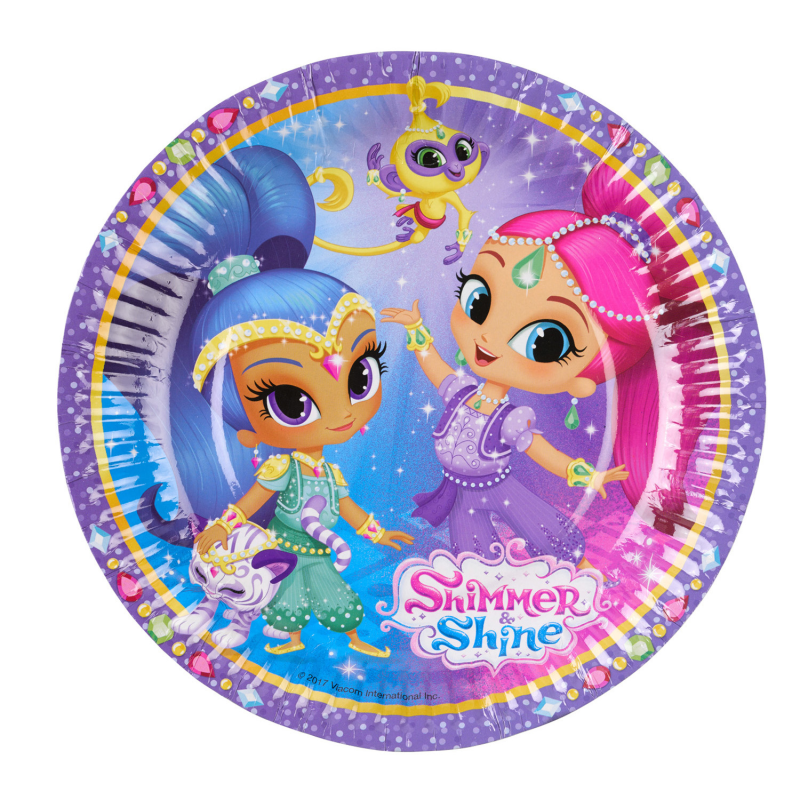 Shimmer & Shine Bordjes