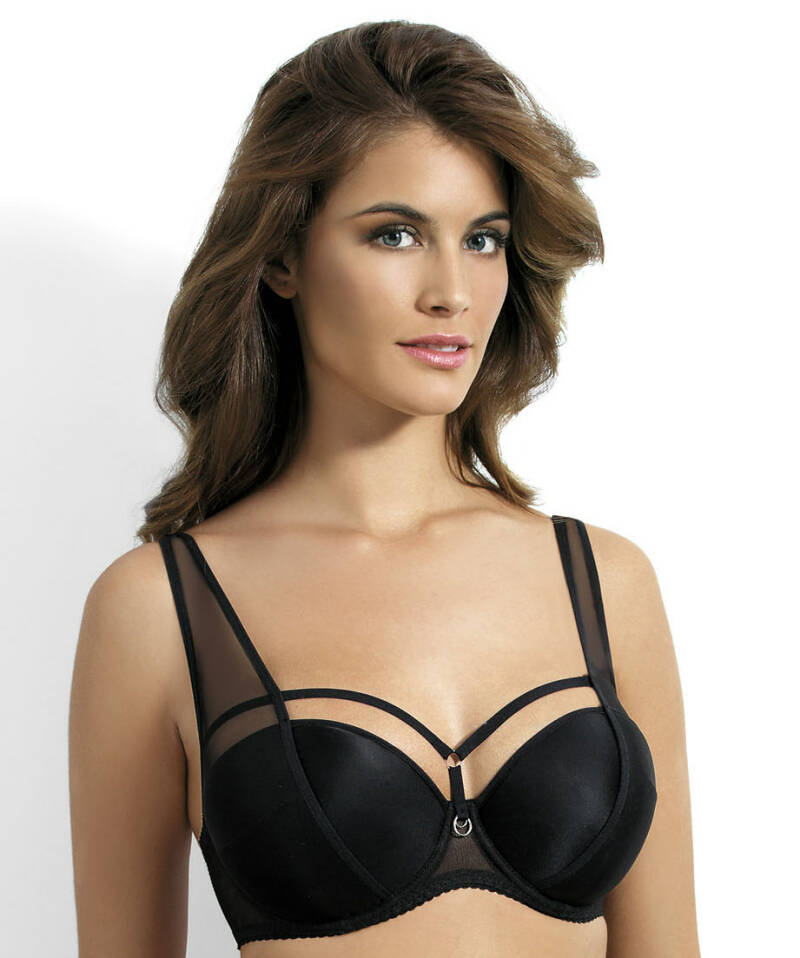 Kinga Push Up bh Onyx 65B zwart
