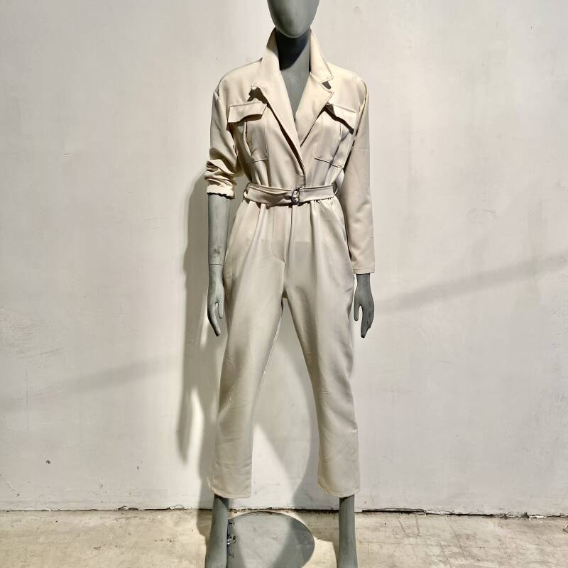 LOLA! JUMPSUIT OFFWHITE
