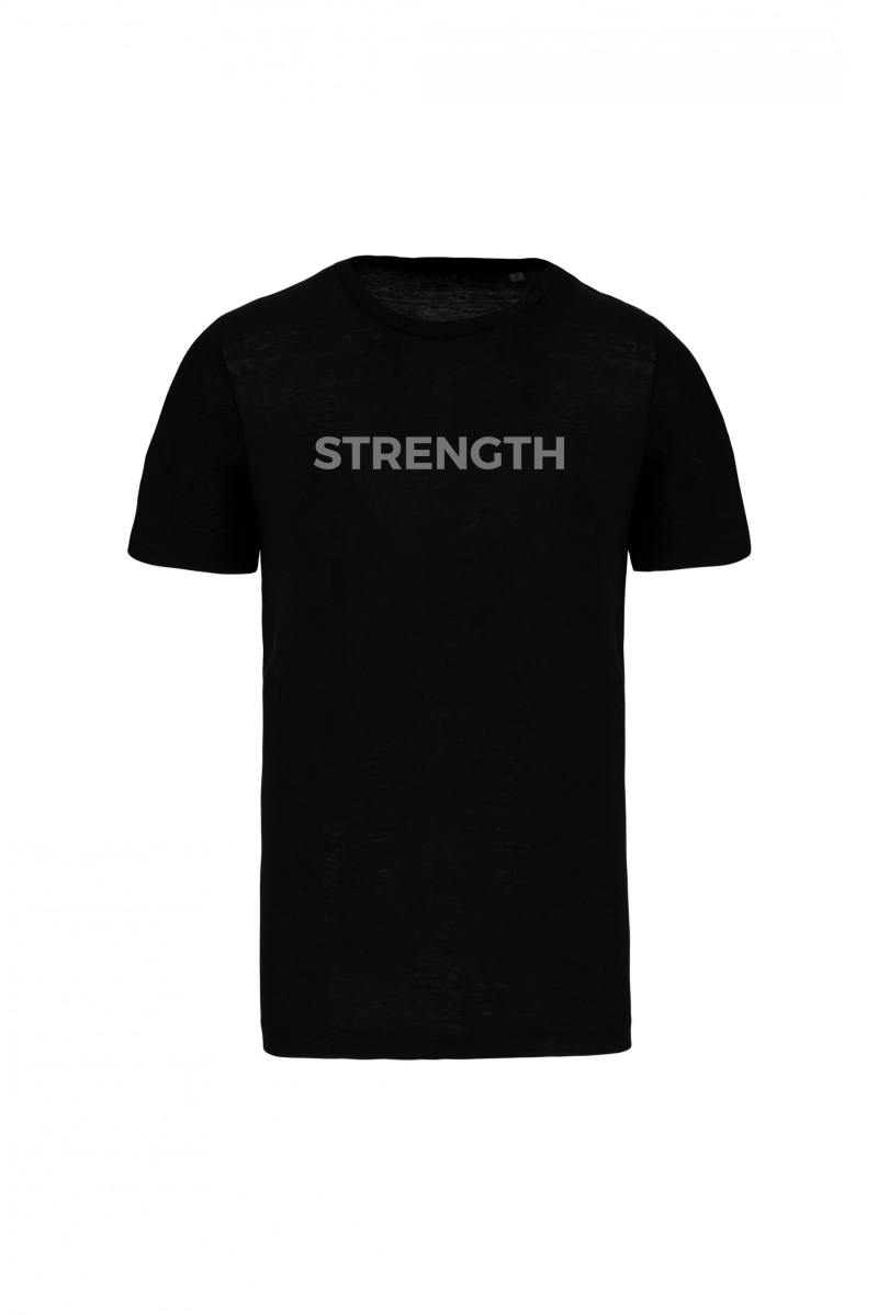 Strength ON shirt zwart heren model