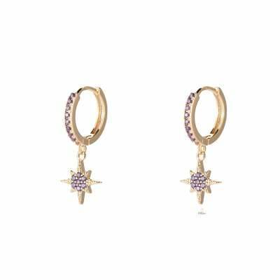 Northen Star 8.0 Plated Earring