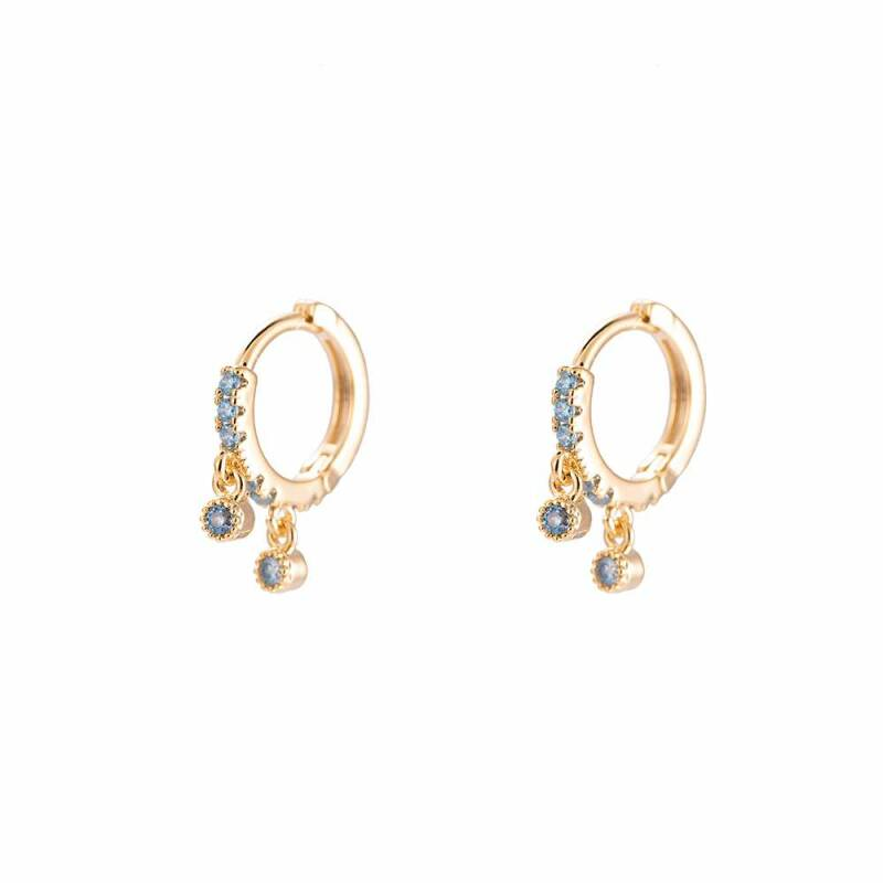 Gorgeous Shining Hoop Earring