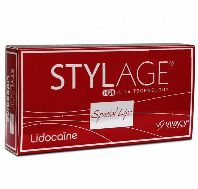 STYLAGE® SPECIAL LIPS LIDOCAINE 1ML 1 spuit x 1 ml per verpakking