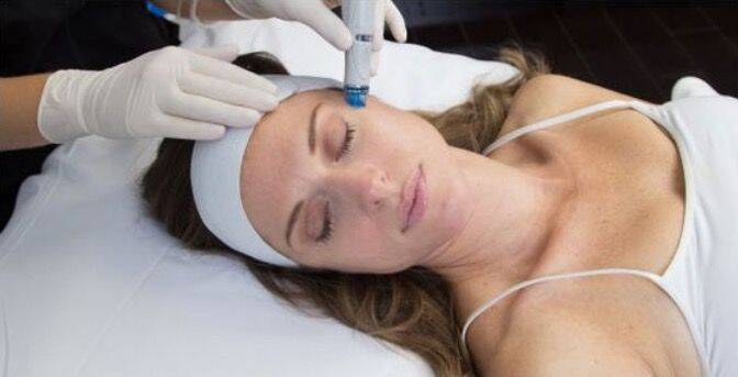 Hydro Dermabrasion training.