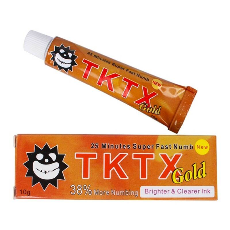 10 gr Tktx 38% Gold anesthetic.