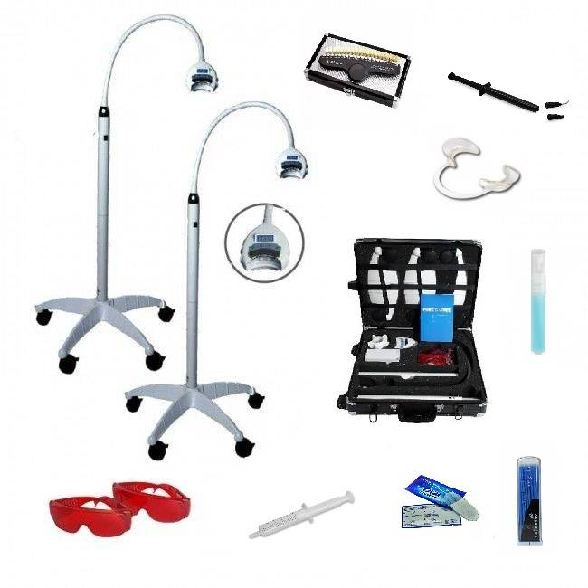 Bleaching light EA-05 IONITECH 2 Lamps (incl. Starter kit and course).