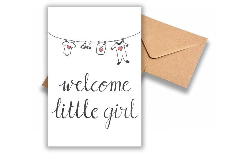 Welcome little girl