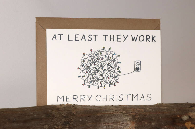 At least they work - Merry Christmas