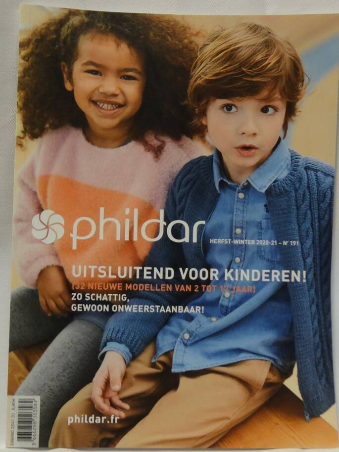 Phildar herfst / winter nr 191