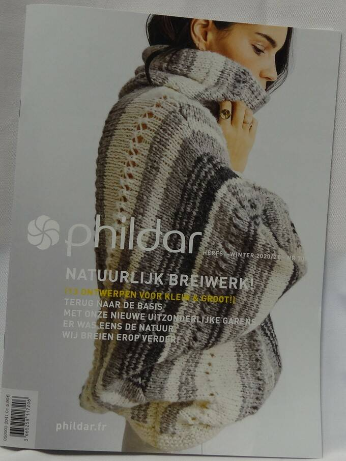 Phildar herfst / winter nr 709