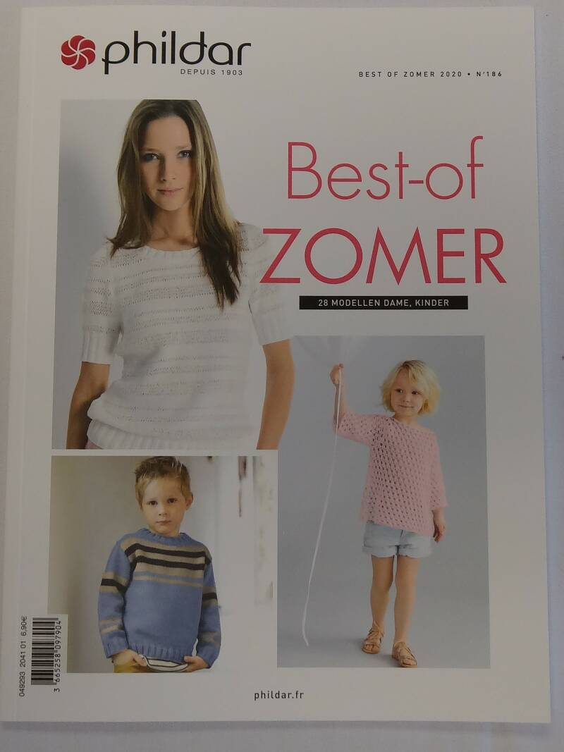 Phildar best of zomer 2020 nr 186