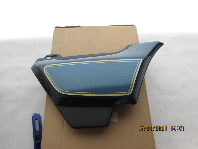 Cover R.Side  CB750C 81   83610-MA5-670ZB