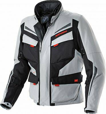 Spidi Voyager 2, textile jacket Black/Grey 3XL