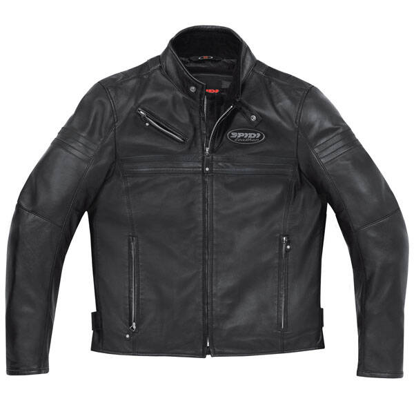 Spidi JK Leather Jacket - Black Medium
