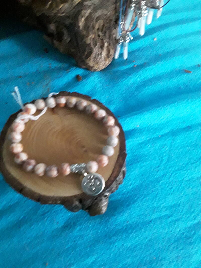 Armband Agaat Ohm