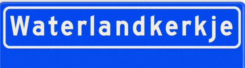 Waterlandkerkje 4508
