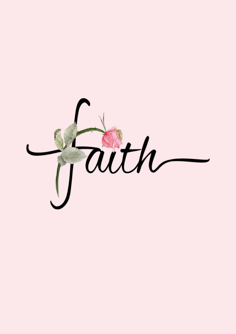 Word art FAITH