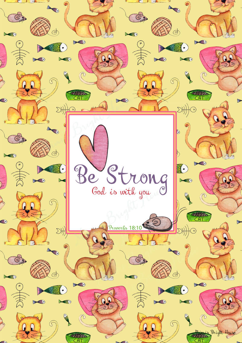 Cat and mouse Be strong & Be Fearless