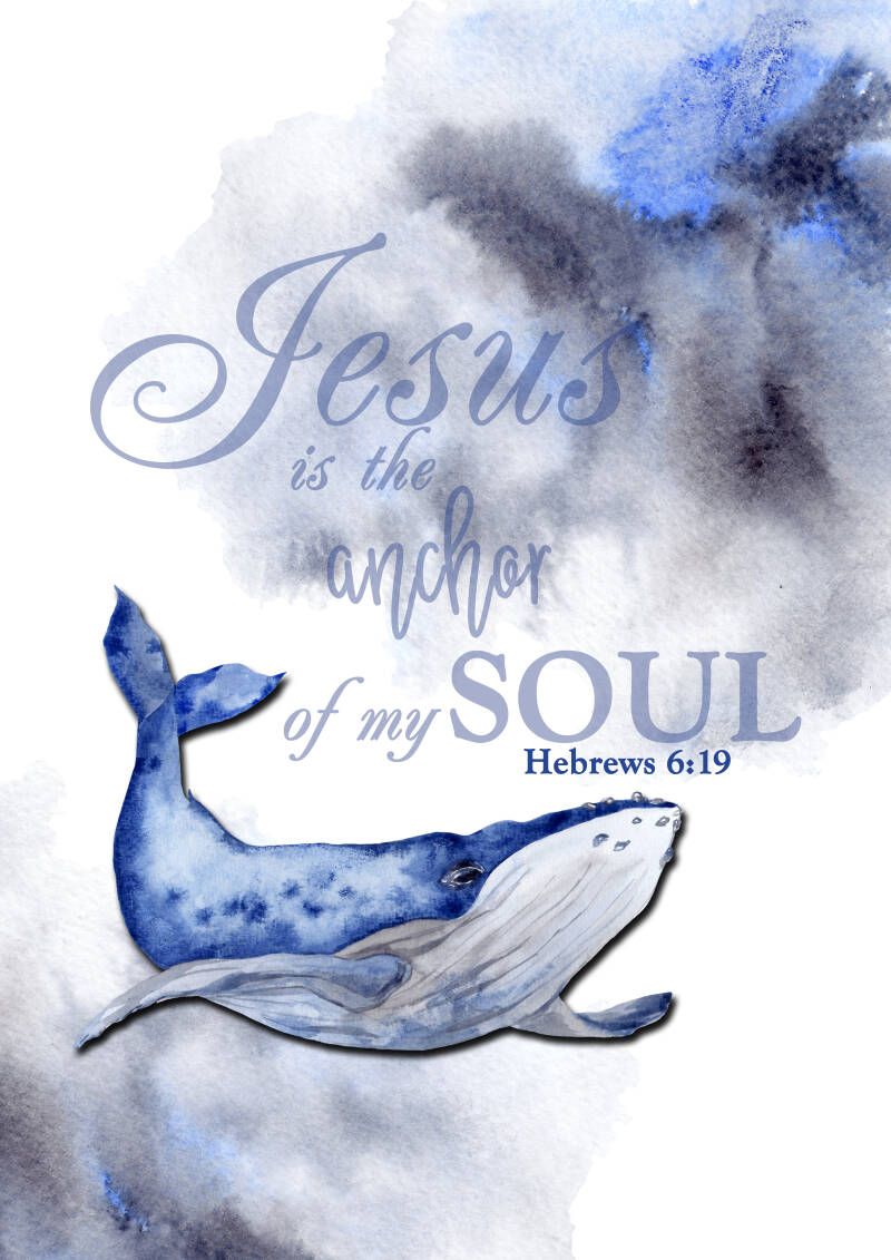 Whale ...Heb.6:9