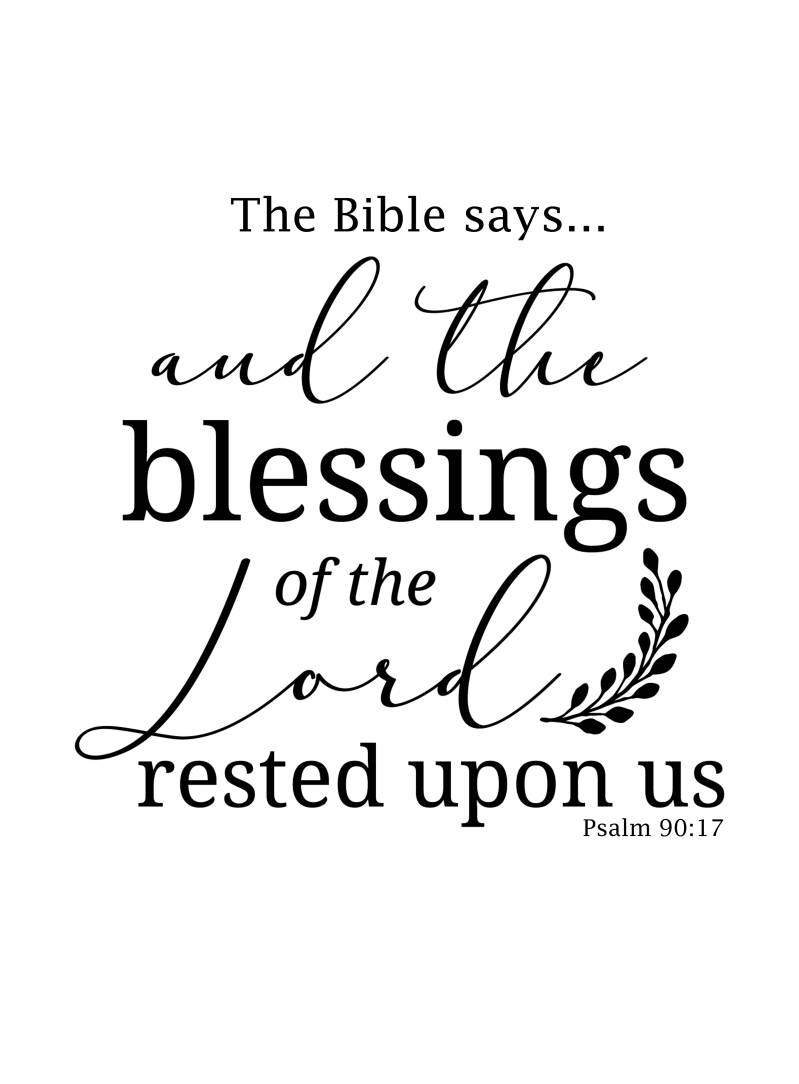 ALL THE BLESSINGS ...