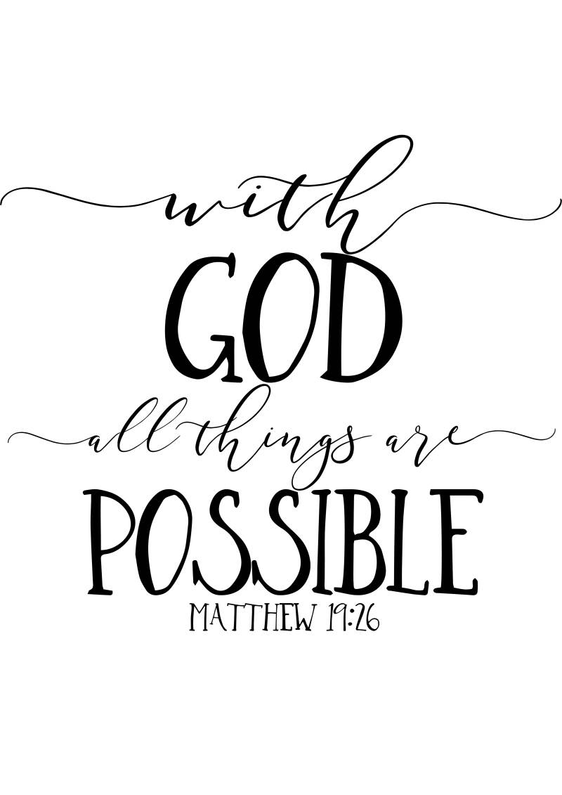 WITH GOD...