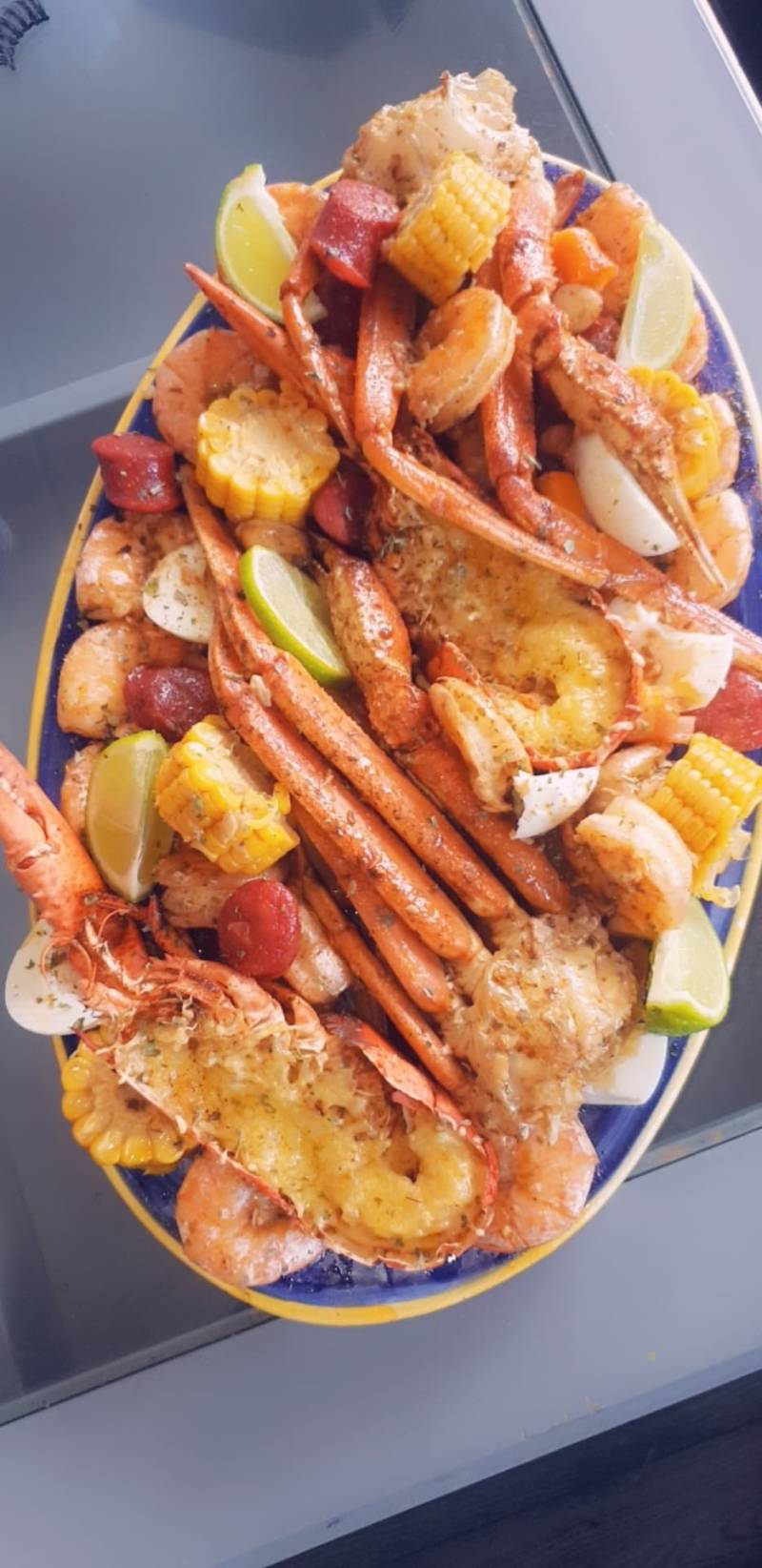 BOSS Lady's Seafood Platter (2 pers)