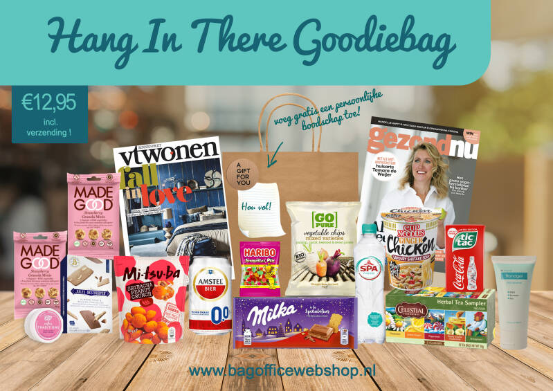 Hang In There Goodiebag