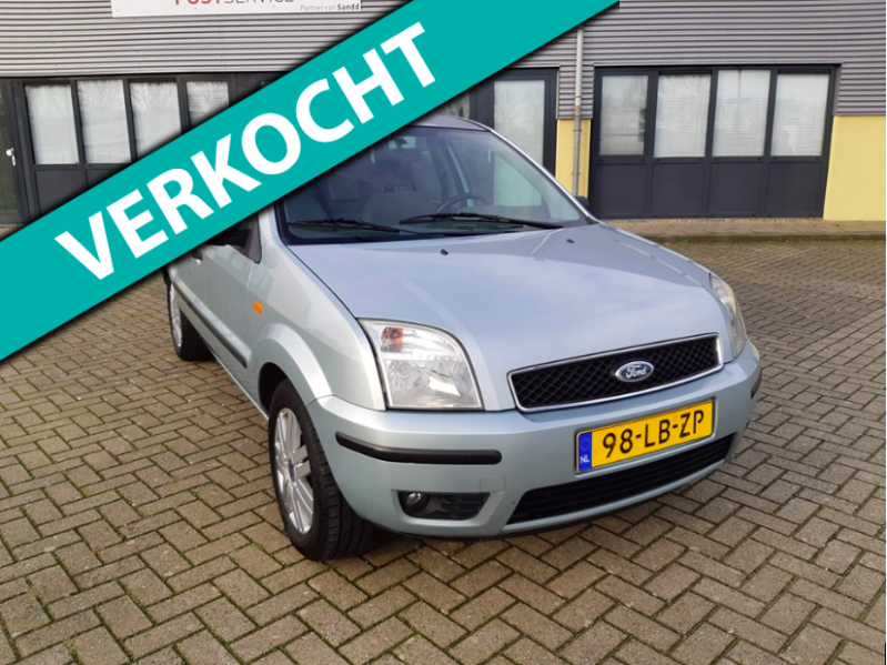 Ford Fusion 1.6 16V 2002 Groen