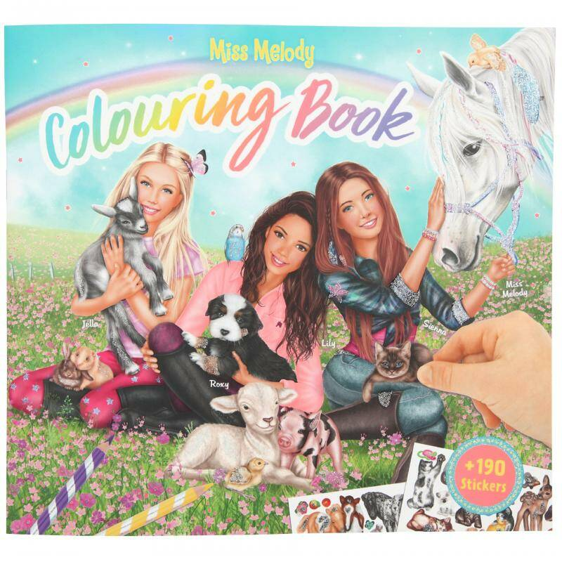 Colouringbook 10409 (Miss Melody)