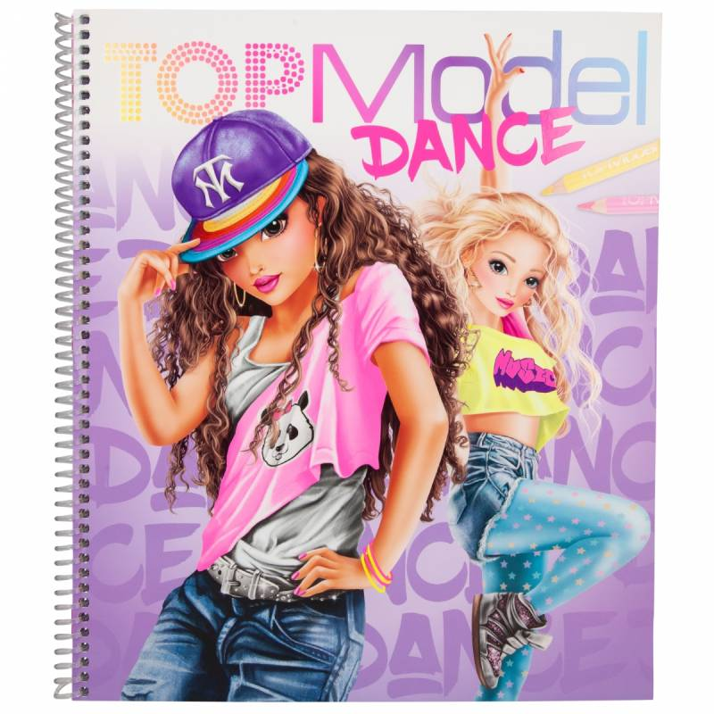 Kleurboek Dance 10959 (Top Model)
