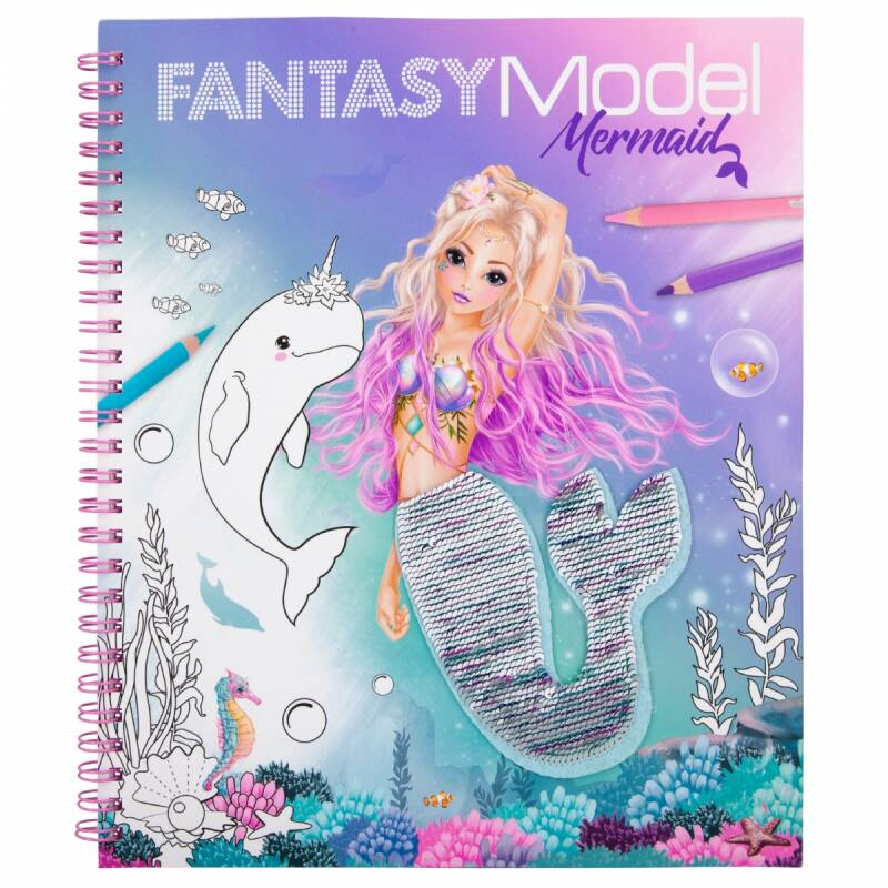 Fantasy Model - Mermaid met pailletten 11153 (Top Model)