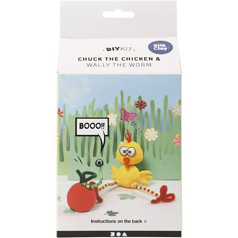 DIYkit - Funny Friends: Chuck the chicken 100603 (Creotime)
