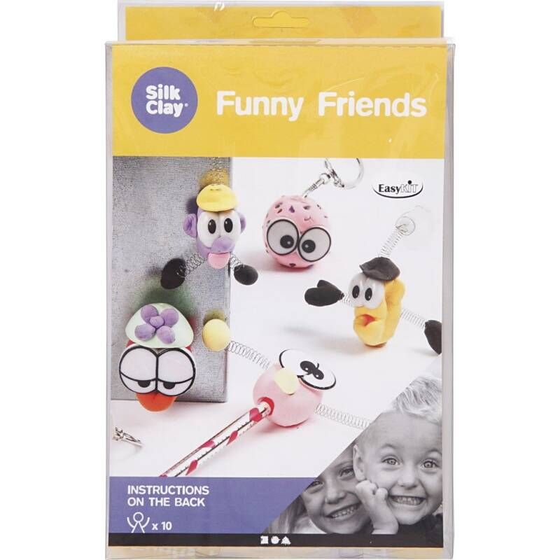 Silk Clay - Funny Friends 100680 (Creotime)