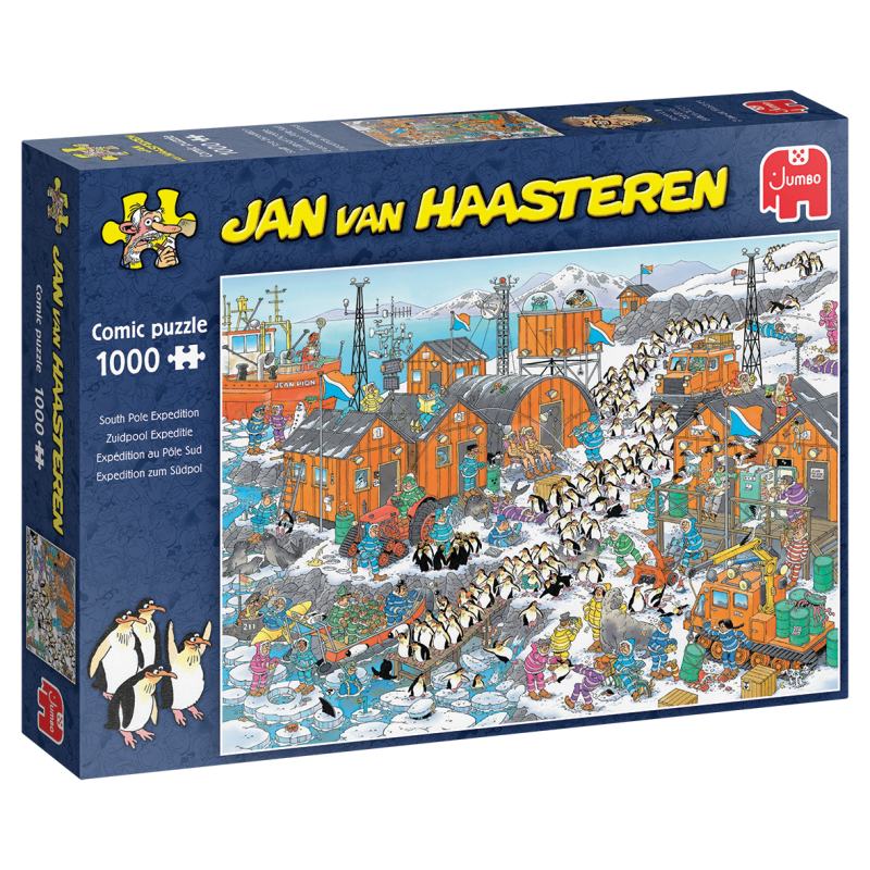 Jan Van Haasteren -  Zuidpool Expeditie 1000pcs 20038 (Jumbo) 12+