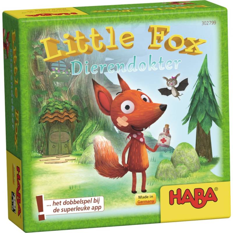 Little Fox dierendokter 302799 (Haba) 4+