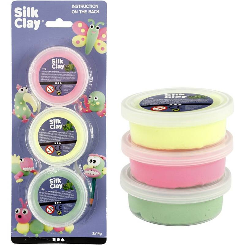 Silk Clay - Set II: 3x14gr 78148 (Creotime)
