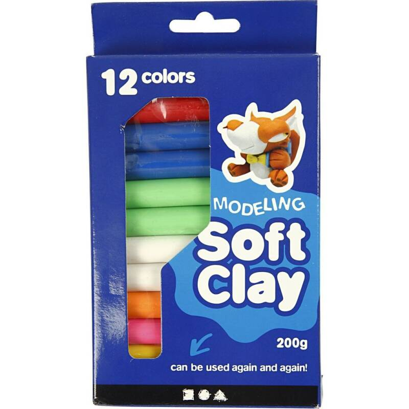 Soft Clay - 200gr 786950 (Creotime)