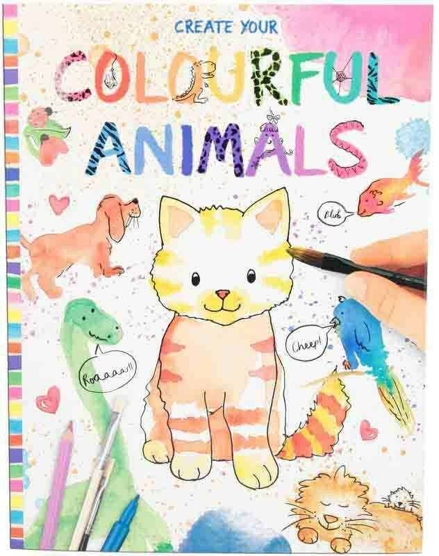 Create your...colourfull animals 8916