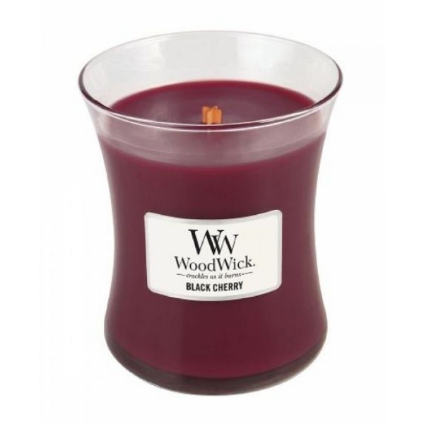 Woodwick Medium - Black Cherry