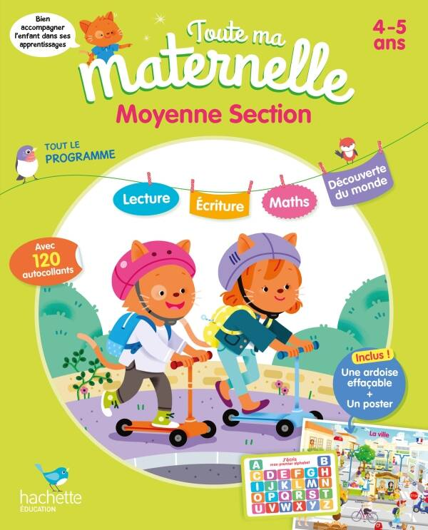 Toute ma maternelle - Moyenne section 4-5 ans