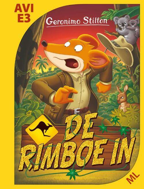Geronimo Stilton - De rimboe in AVI E3