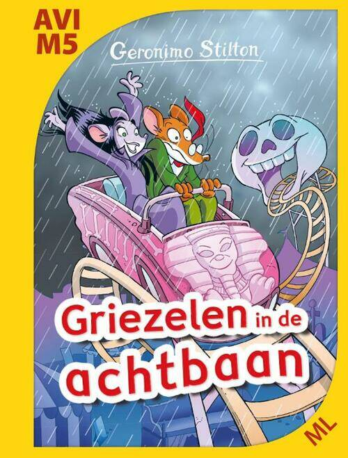 Geronimo Stilton - Griezelen in de achtbaan AVI M5