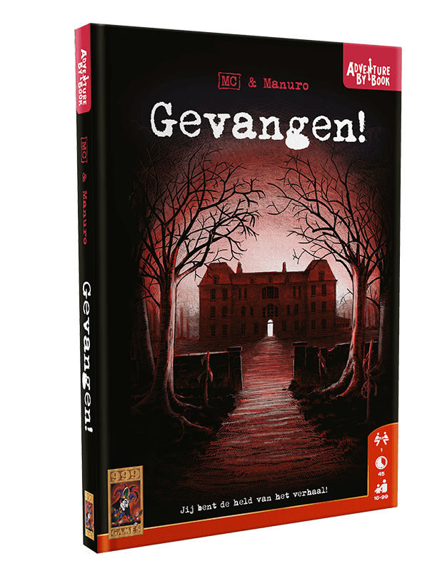 Adventure By Book - Gevangen! 999-ABB03 (999 Games) 16+