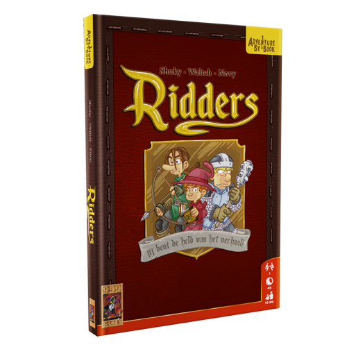 Adventure By Book - Ridders 999-ABB01 (999 Games) 12+