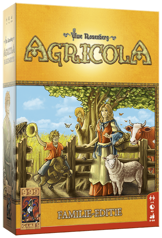 Agricola - Familie editie 999-AGR07 (999 Games) 8+