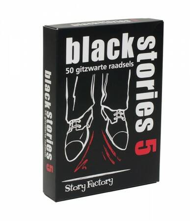 Black Stories - 5 (Tucker's Fun Factory) 12+