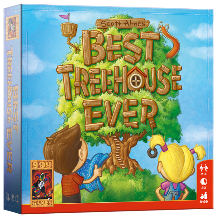 Best Treehouse Ever 999-BTE01 (999 Games) 8+