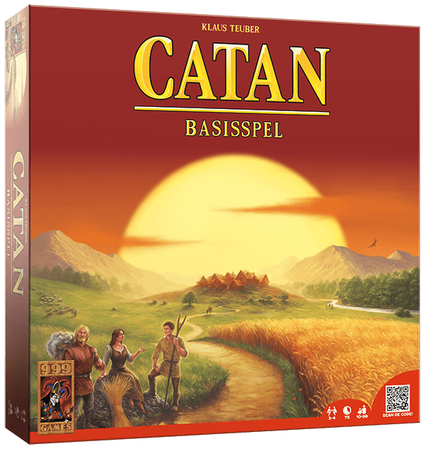 Catan - Basisspel 999-KOL01B (999 Games) 12+