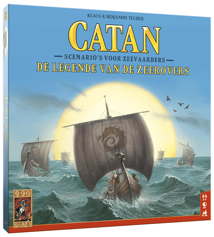 Catan - Uitbr.: Legende van de Zeerovers (999 Games)