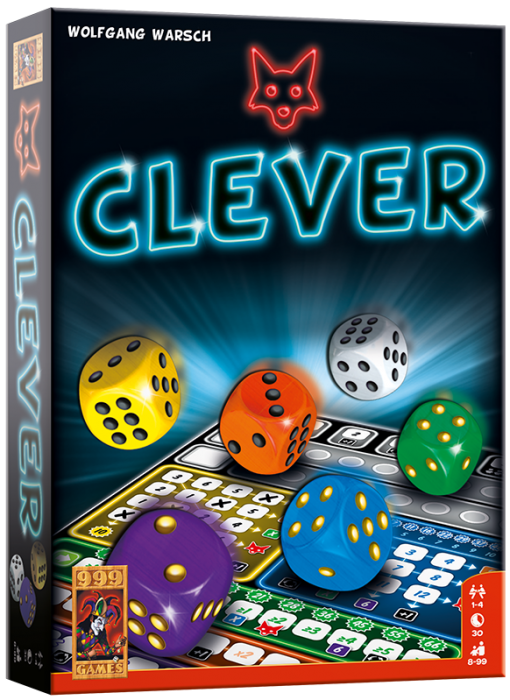 Clever 999-CLE01 (999 Games) 8+